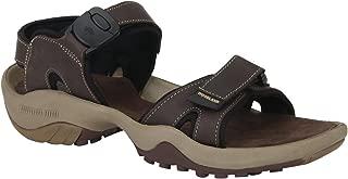 Woodland Men's Brown Leather Sandals-7 UK/India (41 EU) (GD 2053116)