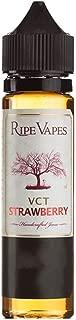 【Ripe vapes】 VCT 60ml ユニコーンボトルタイプ 選べるフレーバー サイズ (Strawberry, 60ml)