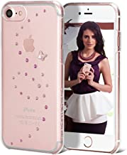 Bling My Thing Papillon, Rose Sparkles, Swarovski Crystals. Ultra Clear Slim Case for iPhone 7. Slim Clip-on Cover with Anti-Scratch Finish. Original Exclusive Retail Packaging.