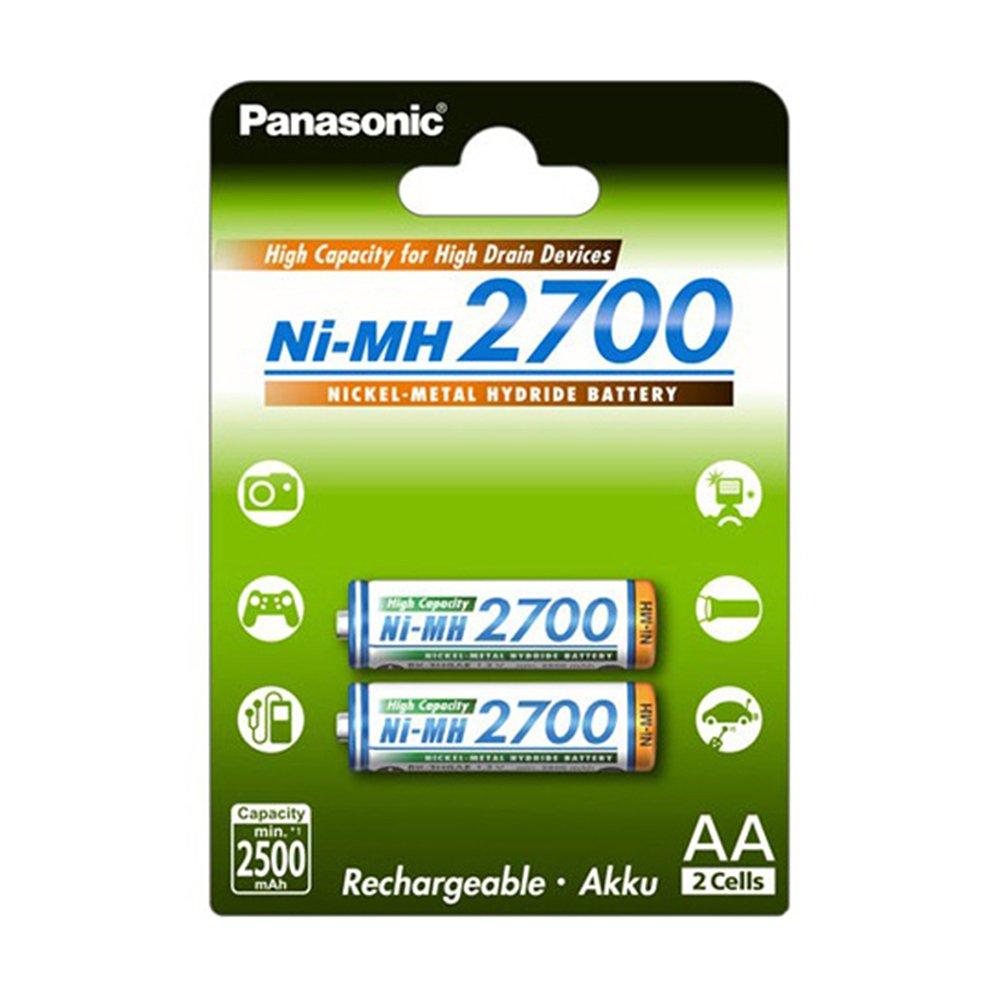 Panasonic Eneloop SY3052791 - Pack de 2 pilas AA: Amazon.es: Electrónica