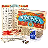 Italian Game Night Bundle - Tombola Bingo Board Game + Traditional Napoletane...
