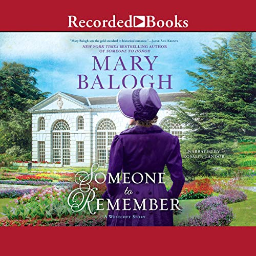 Someone to Remember: A Westcott Novel, Book 7