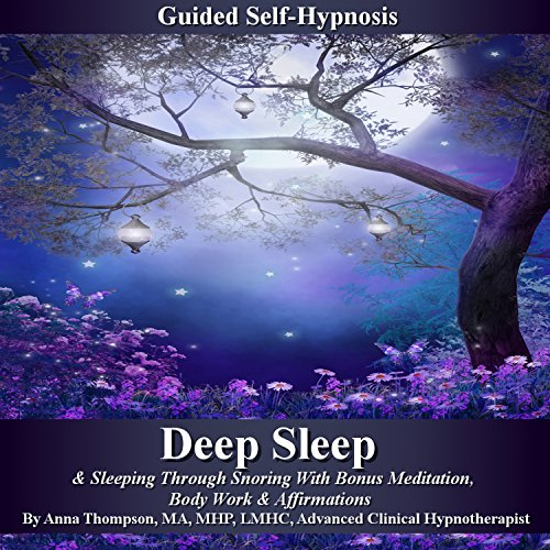 Deep Sleep Guided Self Hypnosis audiobook cover art
