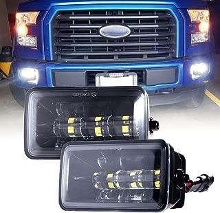 Upgrade LED Fog Lights for 2015-2018 Ford F150 4 Inch LED Fog Light Assembly Kit,36W Waterproof LED Bumper Lamps Set-1 Pair