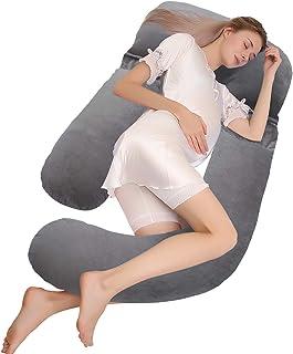 HBselect Almohada Embarazada Dormir 150 x75 Cm Mejorar Sueñ