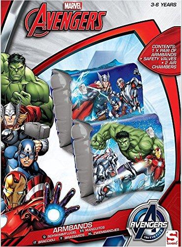 Kid Brassards Piscine Plage Les Avengers L'ere D'ultron