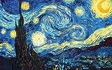 Diamond Painting La Noche Estrellada Cuadros Diamantes Van Gogh 5D Taladro Completo Diamante Pintura Por Número Kit Para Adulto Niños, Bordado Punto de Cruz Diamante Craft Decoración Del Hogar