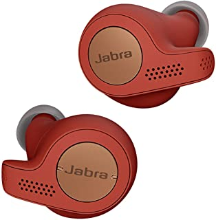 Jabra Elite Active 65t True Wireless Sports Earbuds with Charging Case  – Copper Red