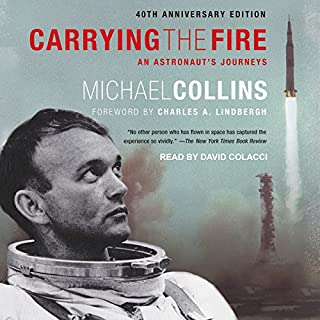 Carrying the Fire audiobook cover art
