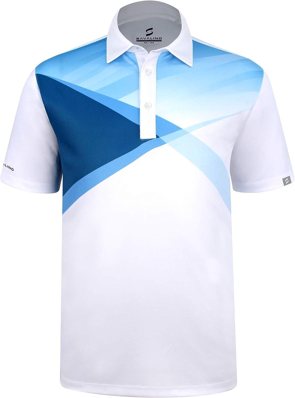 Japan Maker 2021 New SAVALINO Men's Bowling Polo Shirts Dries Wicks Sweat Material