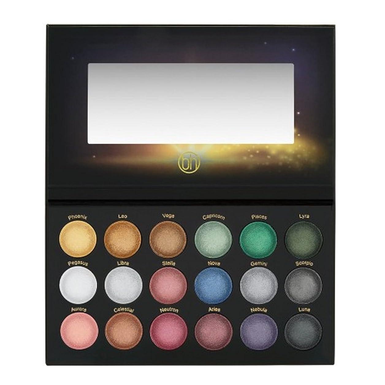 フットボール類人猿鷹BH Cosmetics Supernova - 18 Color Baked Eyeshadow Palette (並行輸入品)