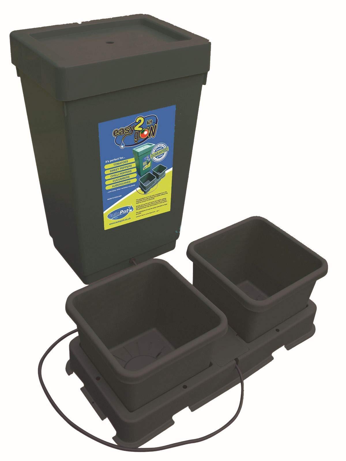 Easy2Grow - Kit básico de sistema hidropónico (2 macetas): Amazon ...