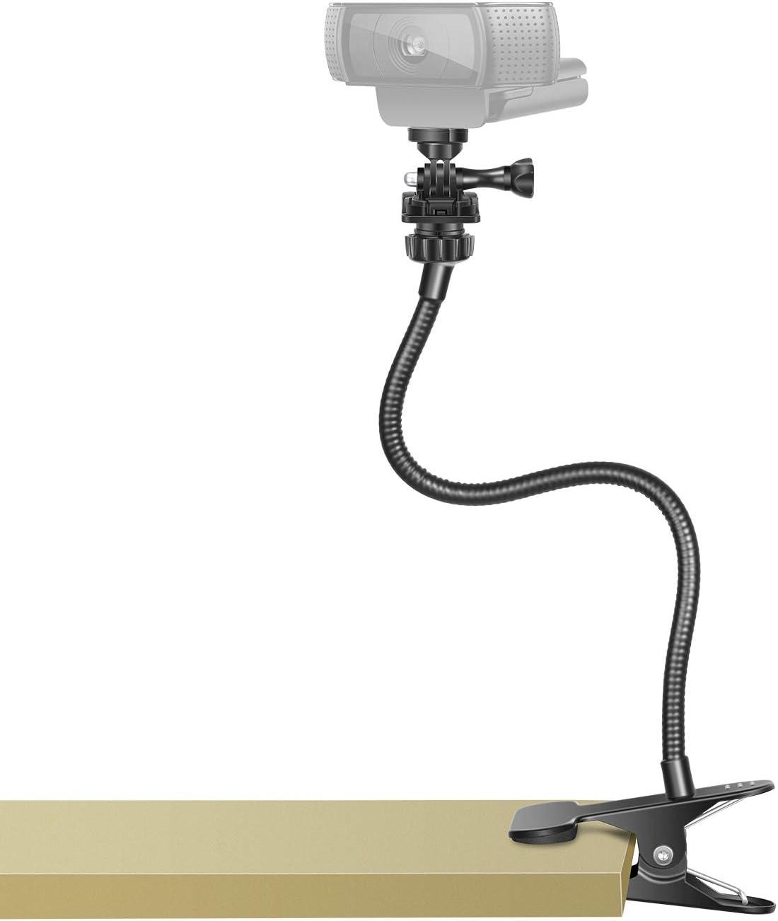 Neewer Webcam Stand Flexible unisex Gooseneck OFFer Clamp De Jaws with
