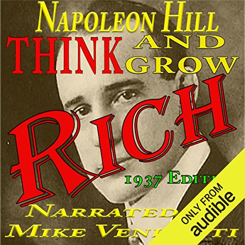 Think and Grow Rich Audiobook By Napoleon Hill cover art