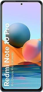 (Renewed) Redmi Note 10 Pro (Glacial Blue, 6GB RAM, 128GB Storage) -120Hz Super Amoled Display | 64MP with 5MP Super Tele-...