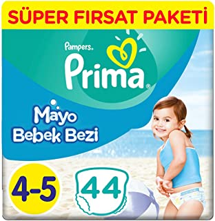Prima Mayo Bebek Bezi 4 Beden Maxi Tekli Paket 44 Adet