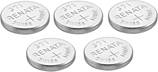 Renata Watch Battery Swiss Made Renata 371 or SR 920 SW 1.5 V (5 x 371 or SR 920 SW)