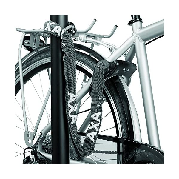 Bicycle Locks AXA 1 x chain lock insertion chain, black, 140 cm / 5.5 mm