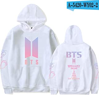 BTS Album Women Hoodies Sweatshirts K-pop Fans Sweatshirt Streetwear DNA K POP Autumn Winter Clothes Oversized 4XL