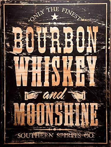 Lorenzo Bourbon Whiskey En Moonshine Vintage Metalen Tin Teken Muur IJzer Schilderen Plaque Poster Waarschuwing Teken Cafe Bar Pub Beer Club Home Decoratie