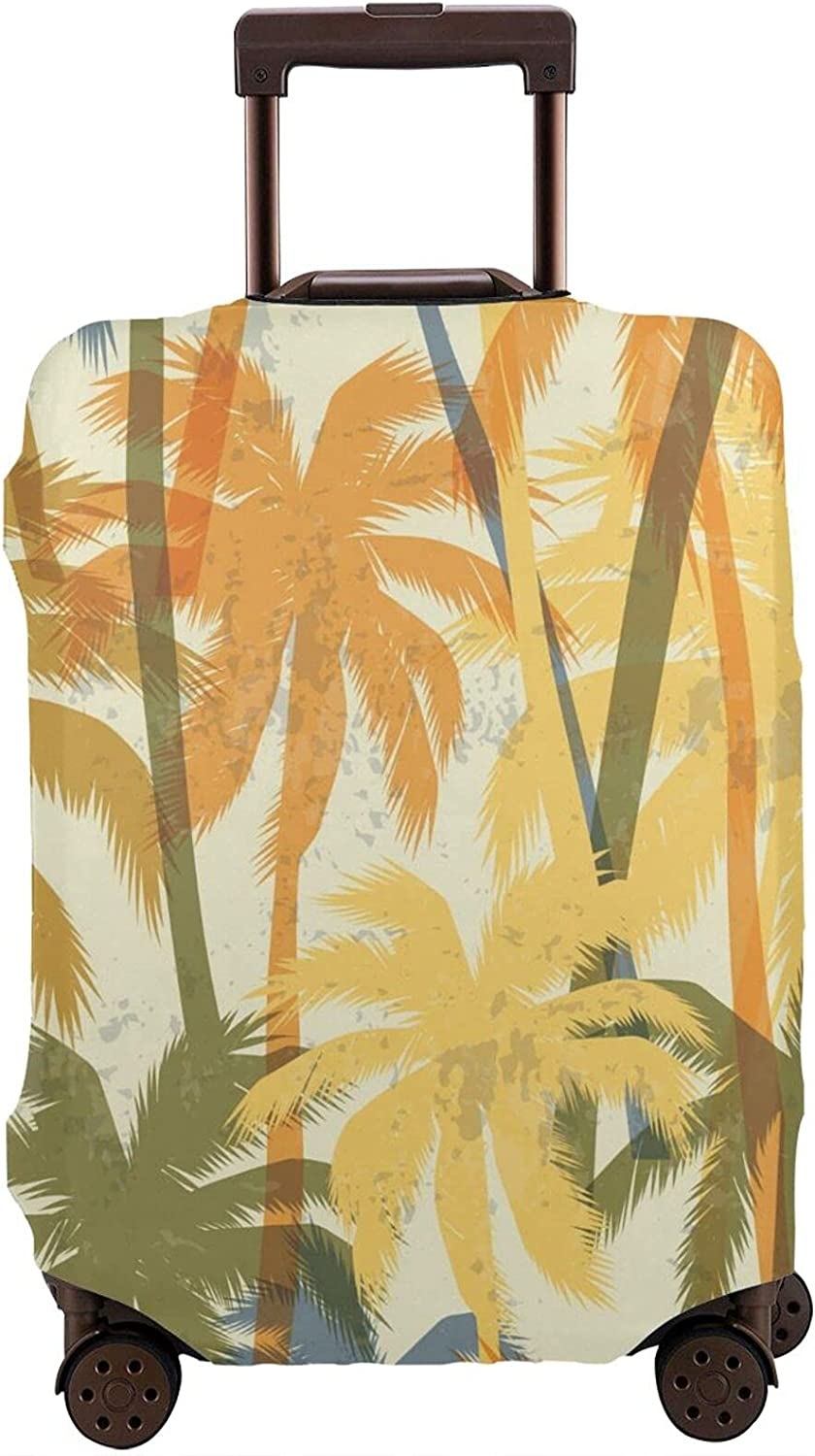 Palm New products, world's highest quality popular! Tree Travel Luggage Cover Very popular Personalized Suitcase C Protector