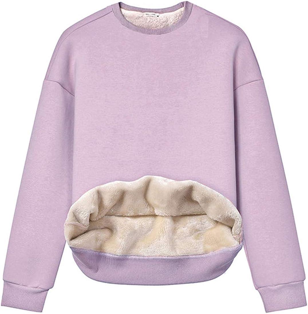 Ranking TOP15 Mesa Mall Gihuo Women's Fleece Sherpa Pullover Sweatshirt Crewneck Lined