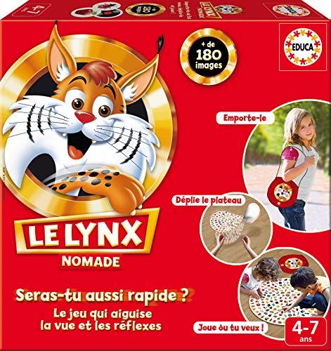 Educa - Juego de Mesa Le Lynx Nomade (16248) (Importado)