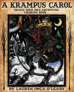 A Krampus Carol: Create-Your-Own-Adventure Coloring Book