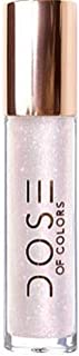 Dose of Colors Desi x Katy Lip Gloss The Most (clear base w/cherry red & platinum sparkles), pack of 1