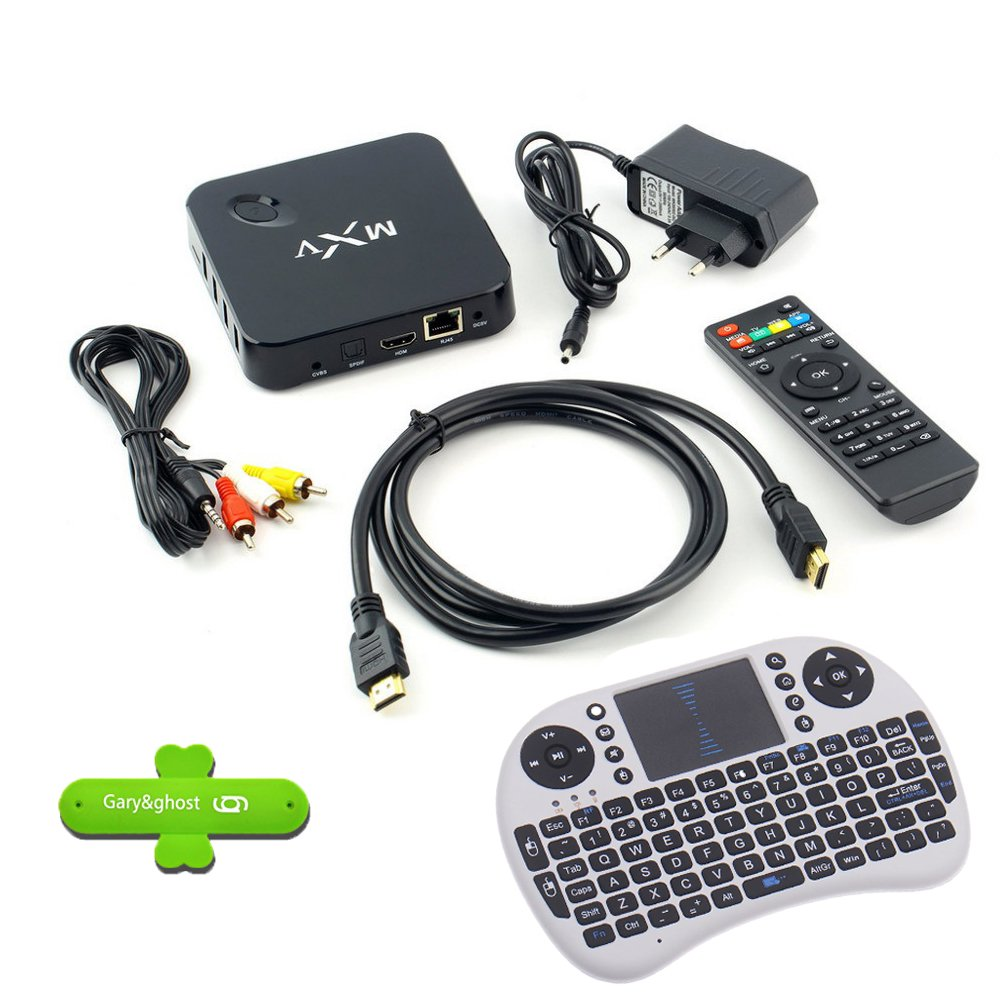 Gary & ghost 1080P MXV TV Box Android 4.4 Amlogic S805 Quad Core HD-3D Blu-