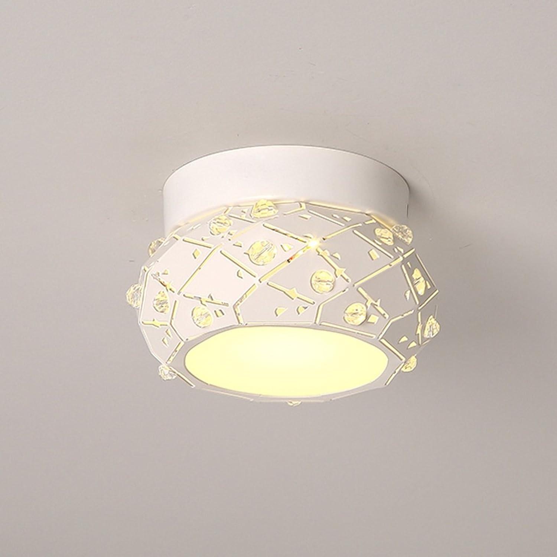 Deckenleuchten GAODUZI Crystal Aisle Korridor LED Moderne Minimalistische Persnlichkeit Kreative Studie Lampen Kreative Persnlichkeit Einfache Und Moderne 5 Watt Warmes Licht (gre   18  6.5cm)