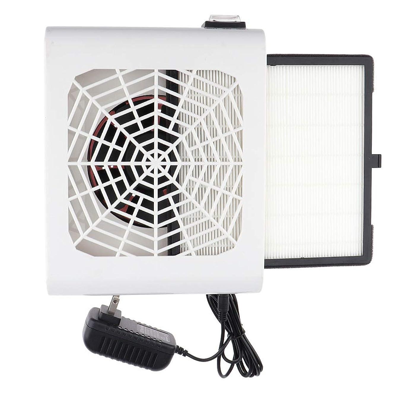 とげのあるじゃがいもメンタリティP Prettyia 48W ネイルダストコレクター ネイル送風機 フィルター