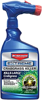 BioAdvanced 704119A Extreme Crabgrass Herbicide Weed Killer, 32 oz, Ready-to-Spray