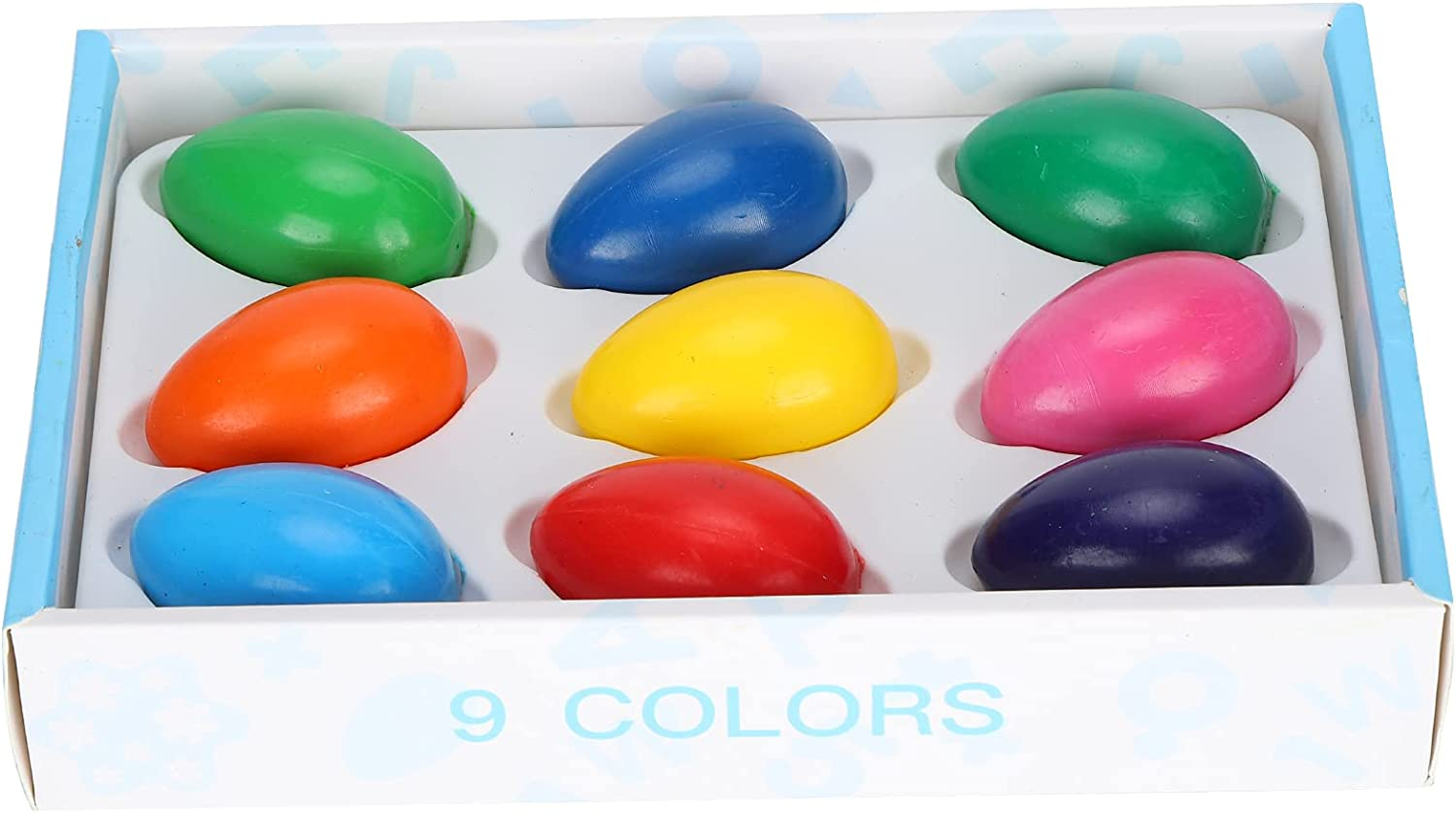 9PCS Crayons for Kids Paint Popular Washable Children excellence Egg-Shaped