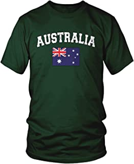 Men's Australian Flag, Flag of Australia, Aussie T-Shirt