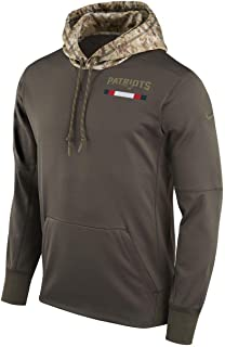 2017 New England Patriots On Field Salute to Service Sideline Hoodie