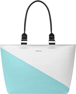 Corkcicle Cooler - Virginia Tote - Turquoise Wedge