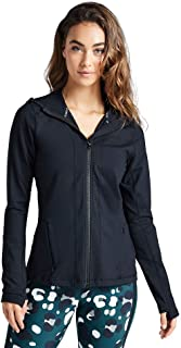 Rockwear Activewear Women's Hooded Jacket from Size 4-18 Jackets + Vests for Tops