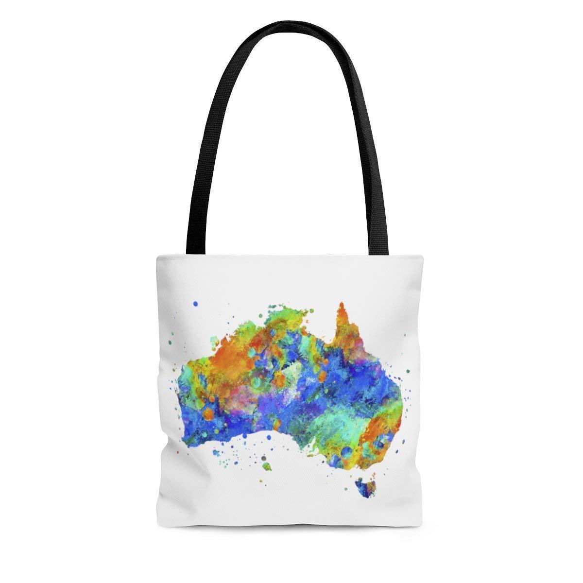 Australia Map Tote Bag Beach Books Free Shipping 2021new shipping free shipping Cheap Bargain Gift Grocery
