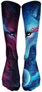 shengpeng Most Fashion Maker Outer Space Galaxy Stary Women & Men Knee High Socks Baseball Athletic Tube Long Stockings Bambini e ragazzi