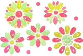 Neva Nude Mayan Blossom Neon UV Flower BodiStix Body Sticker