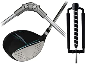 Medicus Dual Hinge DA Driver with Dual Hinge Putter - Swing Correcting Training Package