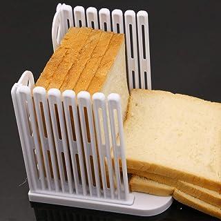 RetroFun Toast Bread Slicer, Pain Planche À Découper Pliable Pain Slicer Cutter Moule Sandwich Toast Trancheuse Machine Cu...