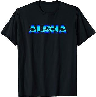 Aloha Hawaï Vacances Voyage Plage Océan Animaux T-Shirt