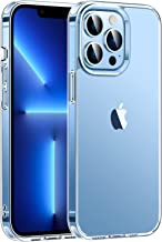 MoKo Compatible with iPhone 13 Pro Max Case, Crystal Clear Case, Anti-Yellowing, Shockproof Protective Clear Case for iPhone 13 Pro Max 6.7 Inch, Clear