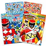 Power Rangers Coloring Book Super Set -- 2 Coloring and Activity Books and Over...