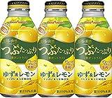 ポッカサッポロ つぶたっぷり贅沢シトラスゆず&レモン 400g 1セット(48缶)