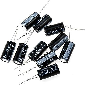 6 pcs Nichicon KA Series 25v 100uf Audio Grade