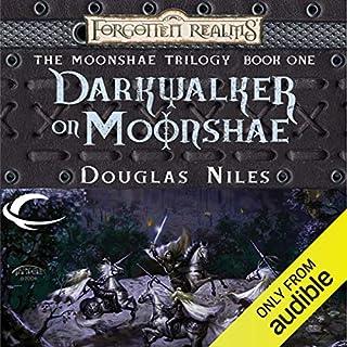 Darkwalker on Moonshae audiobook cover art