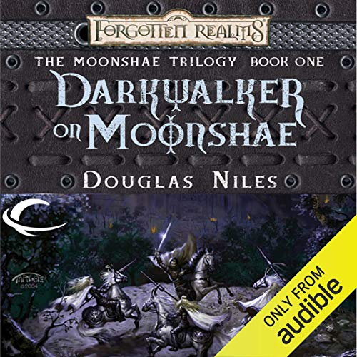 Darkwalker on Moonshae audiobook cover art